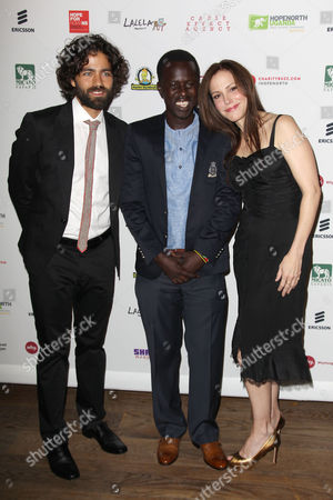 Adrian Grenier, Okello Kelo Sam and Mary-Louise Parker