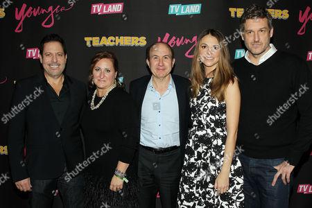 Darren Star, Cyma Zarghami, Philippe Dauman, Sutton Foster, Keith Cox