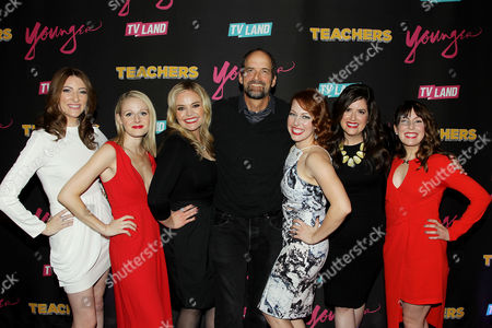 Stock Picture of Katy Colloton, Kate Lambert, Katie Obrien, Jay Martel (Exec. Producer), Kathryn Renee Thomas, Cate Freedman, Caitlin Barlow (Cast of Teachers)