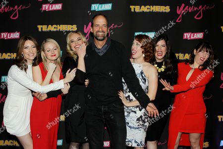 Editorial photo of TV Land Launch Party for 'Younger' Season 2 and 'Teachers' Premiere, New York, America - 12 Jan 2016