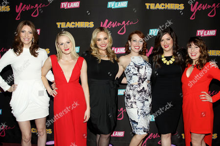 Editorial image of TV Land Launch Party for 'Younger' Season 2 and 'Teachers' Premiere, New York, America - 12 Jan 2016