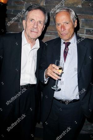 Bob Jamieson and Bob Simon