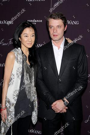 Stock Image of Vera Wang, Pierre Thoretton (Director)