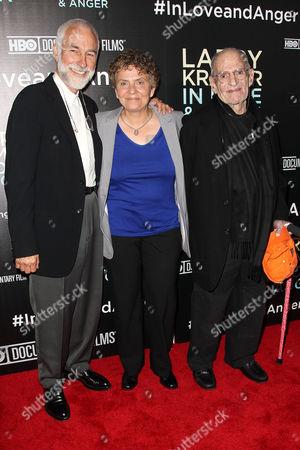 William David Webster, Jean Carlomusto (Director) and Larry Kramer