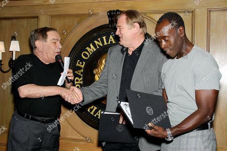 Freddie Roman, Brendan Gleeson, Don Cheadle