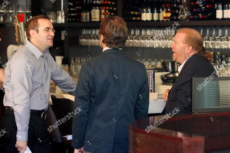 Joe Maggio (Director), James LeGros and Mario Batali