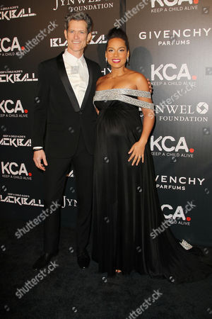 Peter Twyman and Alicia Keys