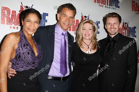 Allyson Tucker, Brian Stokes Mitchell, Marin Mazzie and Jason Danieley