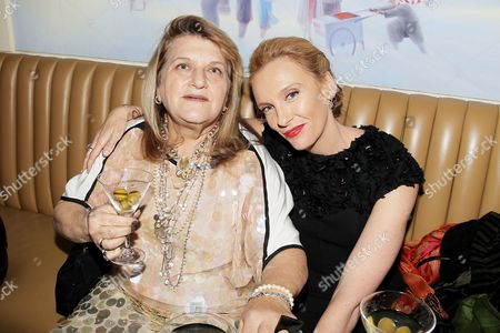 Julie Weiss (Costume Designer) and Toni Collette