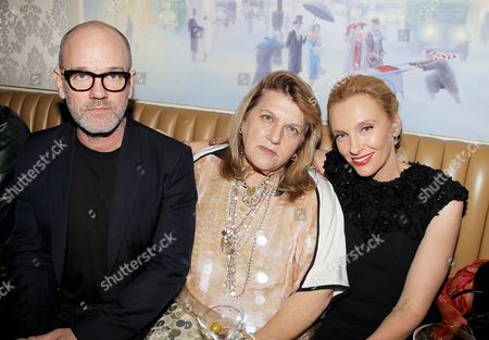 Michael Stipe, Julie Weiss (Costume Designer) and Toni Collette