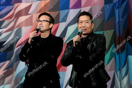 Stock Image of Andrew Lau, Andrew Loo (Directors)
