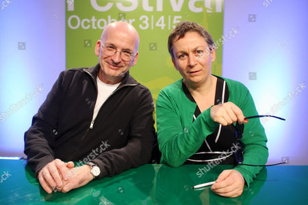 Roddy Doyle and Anne Enright