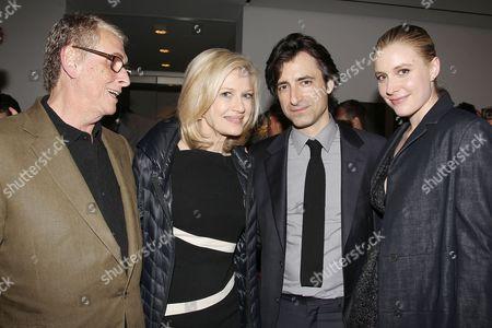 Mike Nichols, Diane Sawyer, Noah Baumbach and Greta Gerwig
