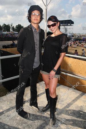 Omar Rodriguez-Lopez and Juliya Chernetsky