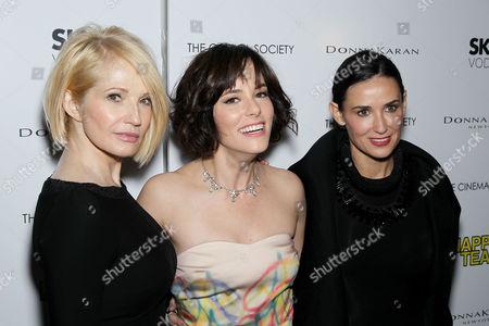 Ellen Barkin, Parker Posey and Demi Moore