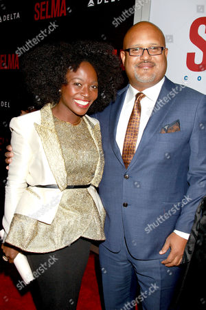 Editorial photo of 'Selma' film premiere, New York, America - 14 Dec 2014