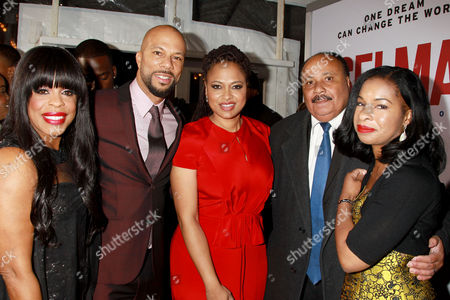 Niecy Nash, Common, Ava DuVernay, Martin Luther King III, Arndrea Waters King