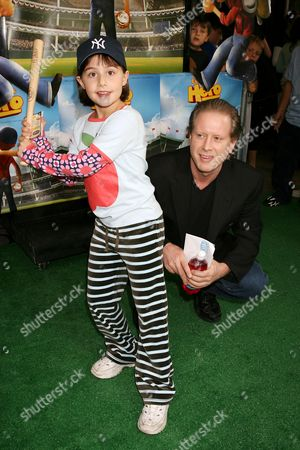 Darrell Hammond with daughter Mia