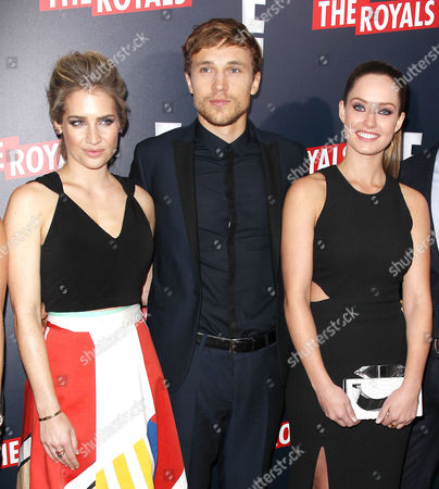 Sophie Colquhoun, William Moseley and Merritt Patterson