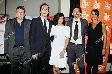 Richard Pena, Stephane Foenkinos, Audrey Tautou and David Foenkinos