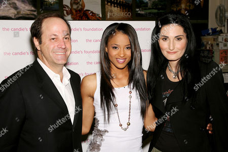Neil Cole (Candies Foundation), Ciara, Atoosa Rubenstein (Seventeen Magazine Editor in Chief)
