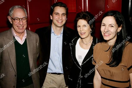 Arie Kopelman (father),Harry (Husband), Coco (Mother) and Jill Kargman (author)
