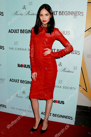 Editorial picture of 'Adult Beginners' film premiere, New York, America - 21 Apr 2015