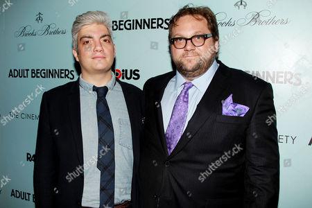 Stock Image of Jared Goldman and Ross Katz