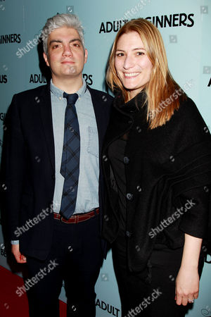 Stock Photo of Jared Goldman with Wife