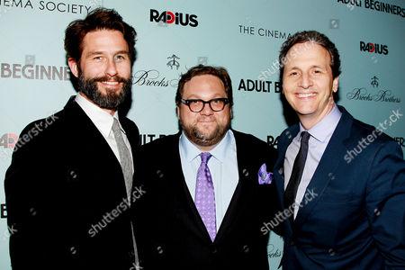 Editorial image of 'Adult Beginners' film premiere, New York, America - 21 Apr 2015