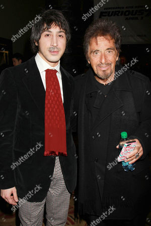 Davide Donatiello and Al Pacino