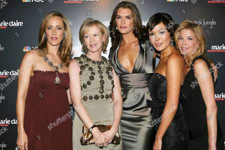 Kim Raver, Joanna Coles, Brooke Shields, Lindsay Price and Candace Bushnell