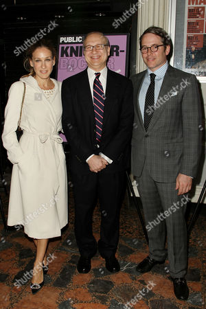 Stock Photo of Sarah Jessica Parker, Pippin Parker and Matthew Broderick