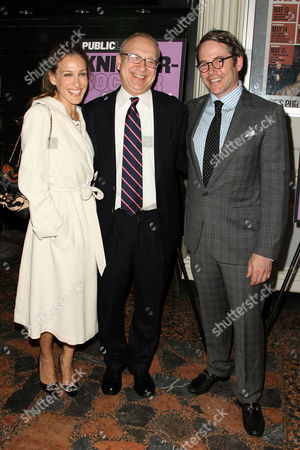 Stock Image of Sarah Jessica Parker, Pippin Parker and Matthew Broderick