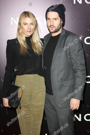 Stock Image of Dree Hemingway and Phil Winser