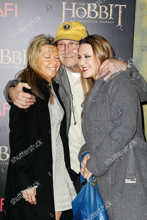 Chevy Chase, Jayni Chase with daughter