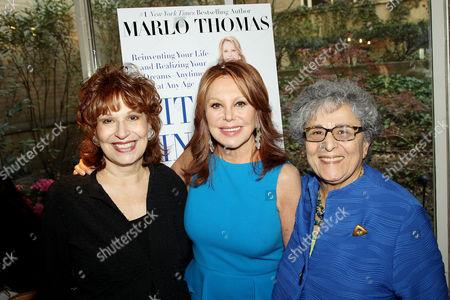 Joy Behar, Marlo Thomas, Arlene Alda