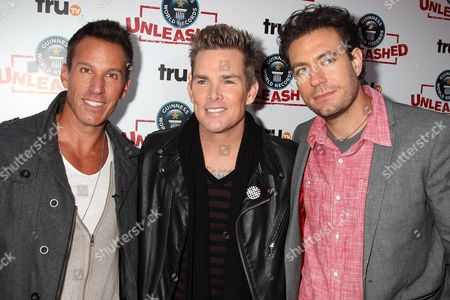 Dan Cortese, Mark McGrath and Zach Selwyn