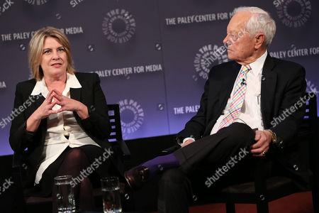 Barbara Hall and Bob Schieffer