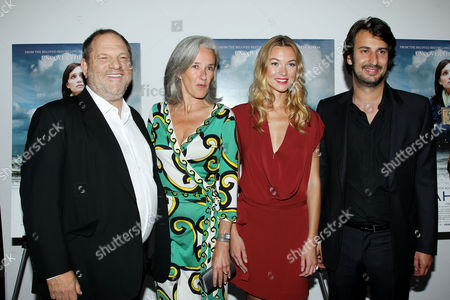 Stock Picture of Harvey Weinstein, Tatiana De Rosnay, Charlotte Poutrel and Gilles Paquet-Brenner