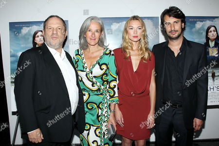 Harvey Weinstein, Tatiana De Rosnay, Charlotte Poutrel and Gilles Paquet-Brenner