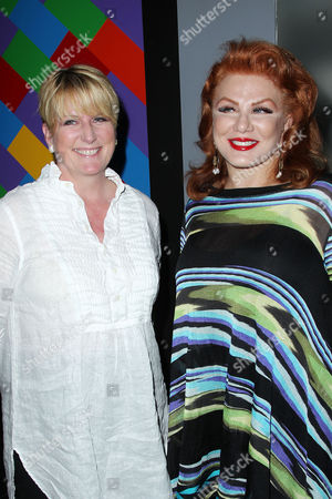 Felicia Taylor and Georgette Mosbacher