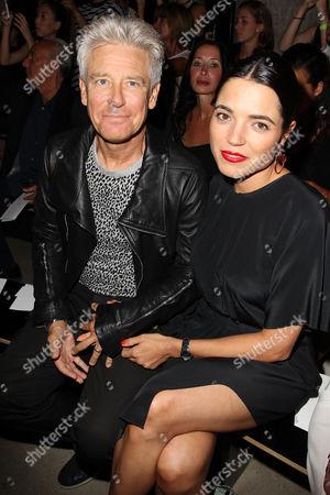 Stock Photo of Adam Clayton and Mariana Teixeira