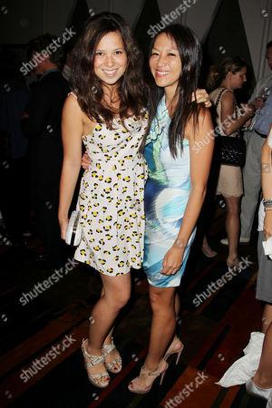 Amy L Chua and daughter Sophia Chua