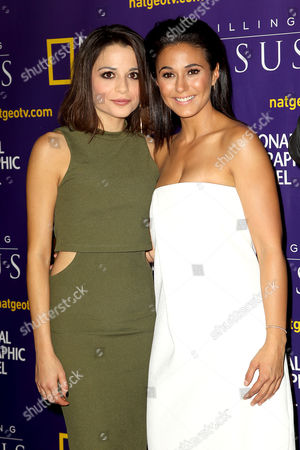 Stephanie Leonidas and Emmanuelle Chriqui