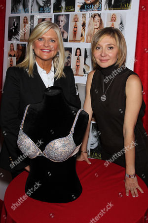 Sharon Turney (CEO Victoria's Secret) and Silvia Damiani (VP Damiani Group)