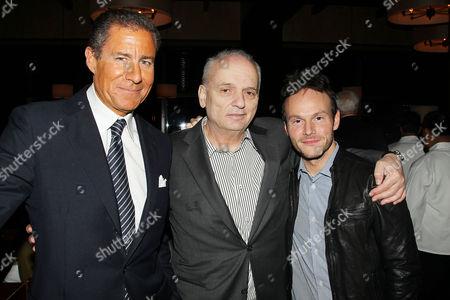 Richard Plepler, David Chase and Chris Terrio