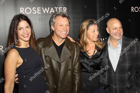 Lori Silverbush, Jon Bon Jovi, Dorothea Hurley, Tom Colicchio