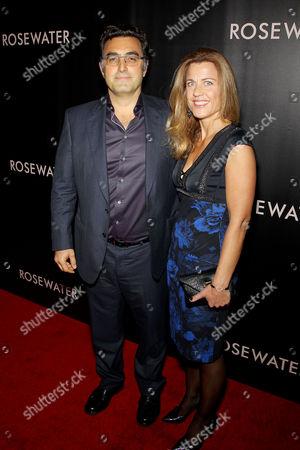 Maziar Bahari with Wife