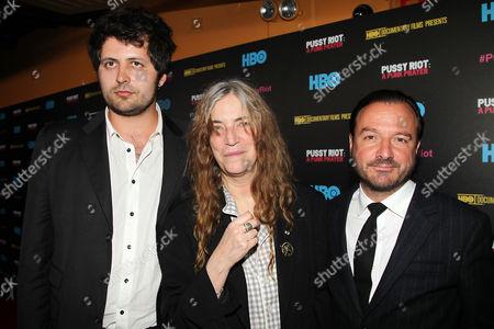 Maxim Pozdorovkin, Patti Smith and Mike Lerner